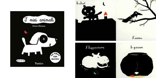 I mie animali, cover e interni