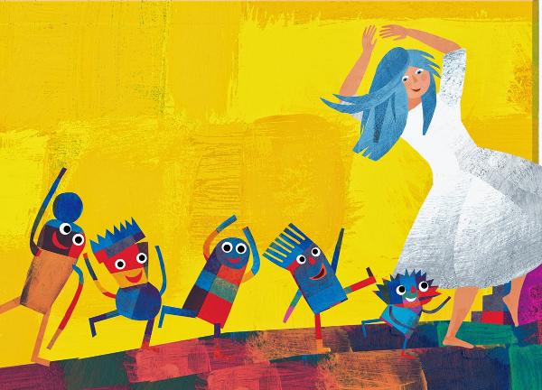 Il Ghiribizzo, testo Bruno Tognolini, illustrazioni Giulia Orecchia, Motta Junior, 2014