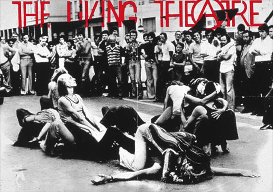 Living Theatre, happening di piazza.