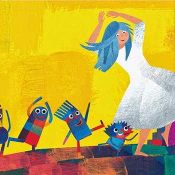 Musica, maestro! Tempi, ritmo e bianco & nero nell'albo illustrato