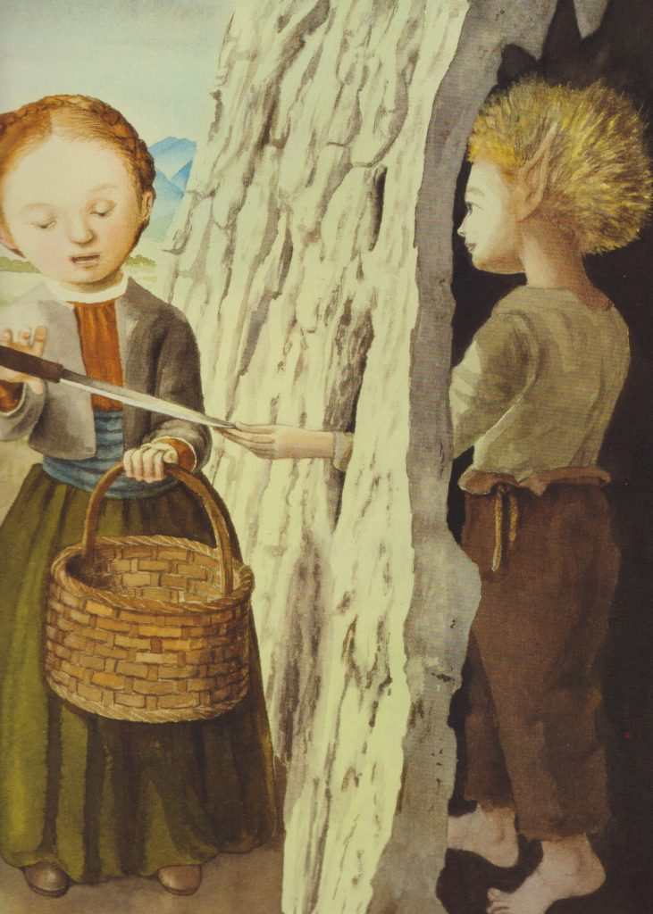 Il principe cigno e altre undici fiabe segrete dei fratelli Grimm, illustrazioni di Fabian Negrin, Donzelli editore, 2014