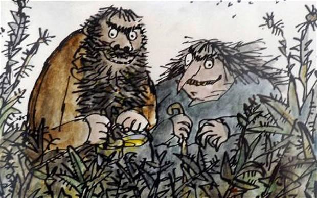 Gli Sporcelli, Roald Dahl, illustrazioni di Quentin Blake, Salani