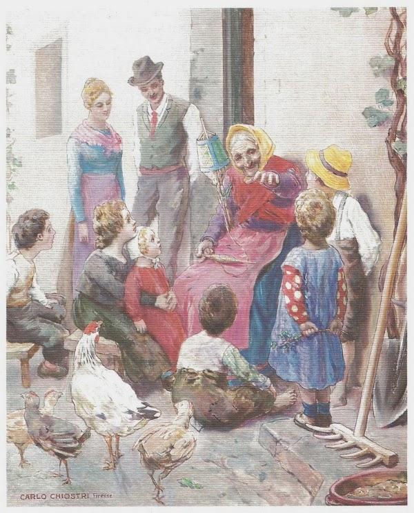 Le novelle della Nonna (II), Emma Perodi, Carlo Chiostri, Salani 1924