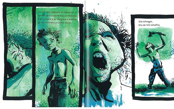 Il selvaggio, David Almond, Dave McKean, Edizioni BD, 2009
