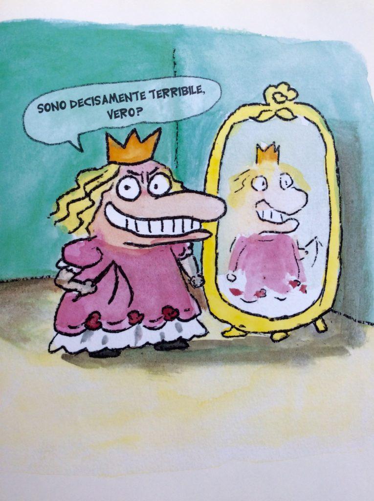 La Principessa Terribile, Nadja, Babalibri