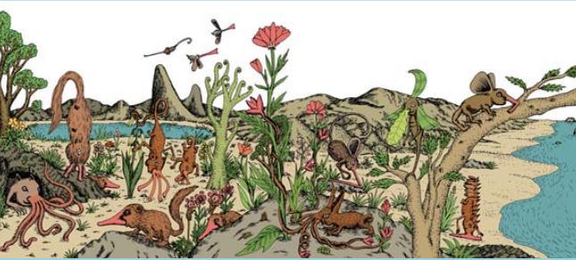 Di bestiari immaginari, sauropollidi ed esseri straordinari