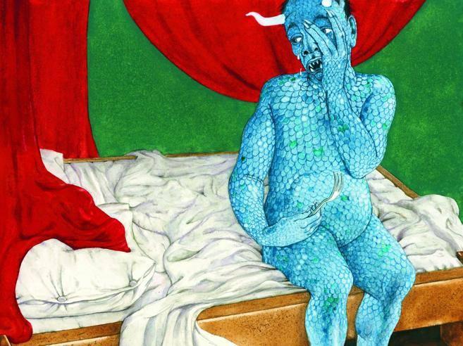 Tredicino, illustrazione di Fabian Negrin - Letterio Di Francia, Re Pepe e il vento magico Fiabe e novelle calabresi, Donzelli 2015