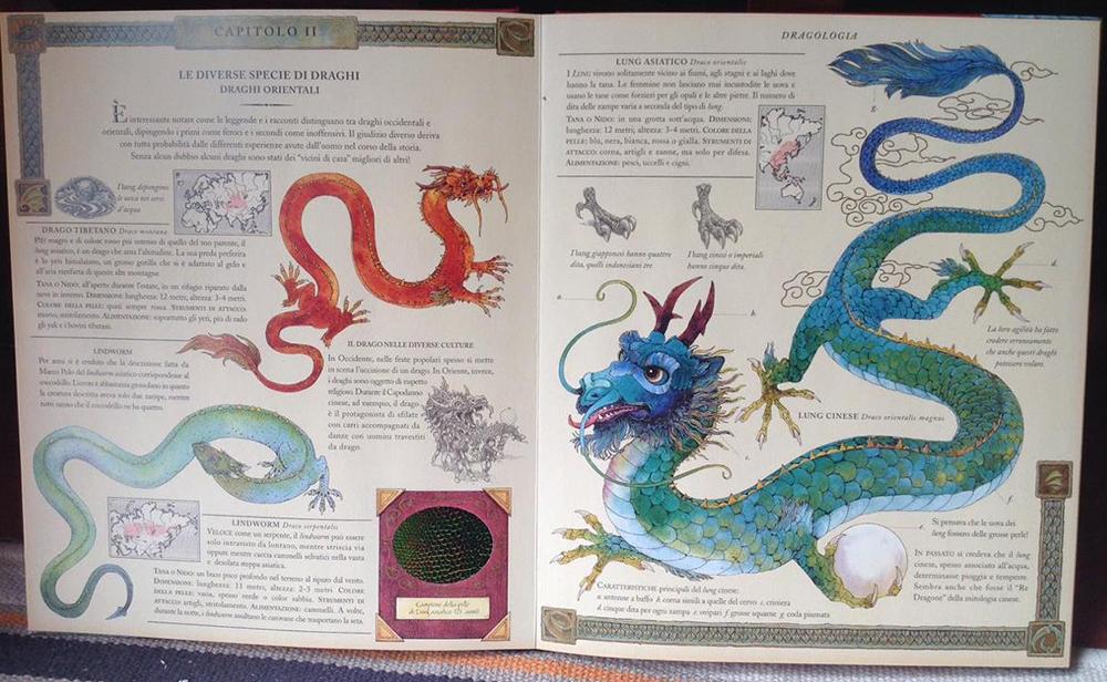 <em>Dragologia. Il libro completo dei draghi</em>, Dr. Ernest Drake, a cura di Dugald A. Steer, Rizzoli