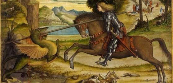 Vittore Carpaccio, San Giorgio e il drago, Venezia, Abbazia di San Giorgio Maggiore