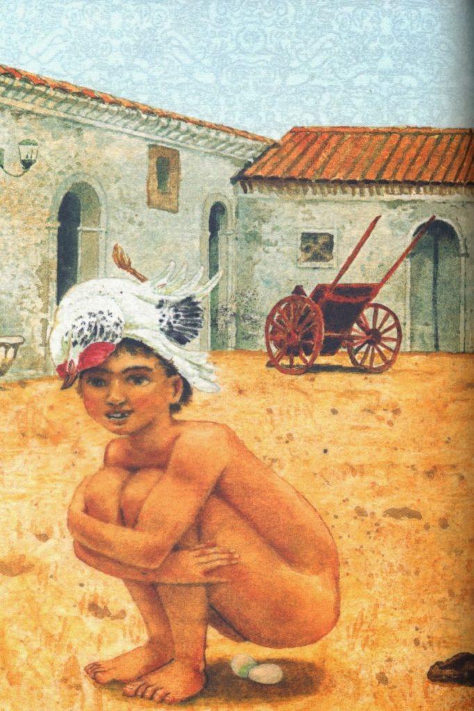Il pozzo delle meraviglie di Giuseppe pitrè, ill. di Fabian Negrin
