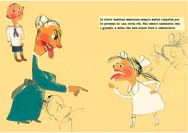 Consigli alle bambine di Mark Twain. Vladimir Radunsky - Donzelli 2010