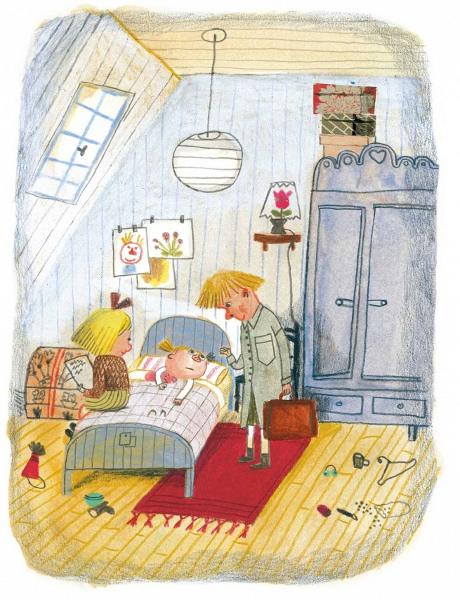 Lotta combinaguai, Astrid Lindgren, illustrazioni di Beatrice Alemagna - Mondadori, 2015
