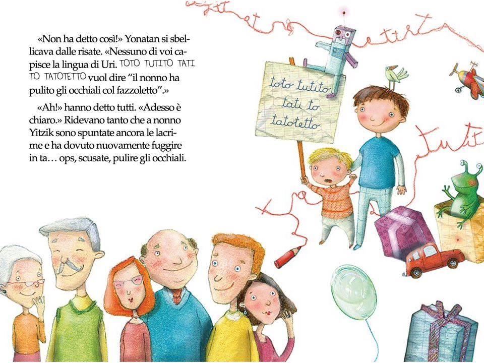 David Grossmann, La lingua speciale di Uri, traduzione di Bianca Pitzorno, illustrazioni di Manuela Santini, Mondadori, Milano, 2011