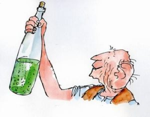 Roald Dahl, The BFG, illustrated by Quentin Blake