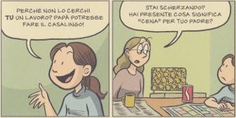 Sorelle, Raina Telgemeier, colorazione immagini di Braden Lamb, traduzione di Laura Bortolazzi, Il Castoro, 2015, Milano.