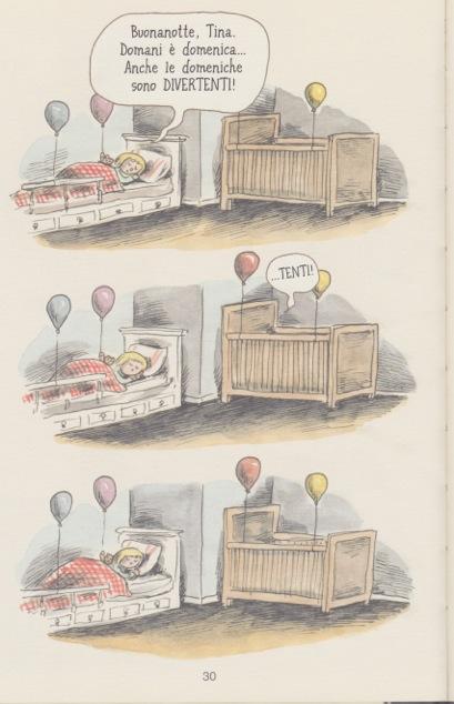 <em>Il sabato è come un palloncino rosso</em> (5,6), Liniers, traduzione di Marta Corsi, La Nuova frontiera junior 2015