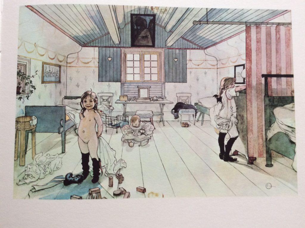 Carl Larsson, testo di Lennart Rudstrom, Una casa, Emme Edizioni, 1982