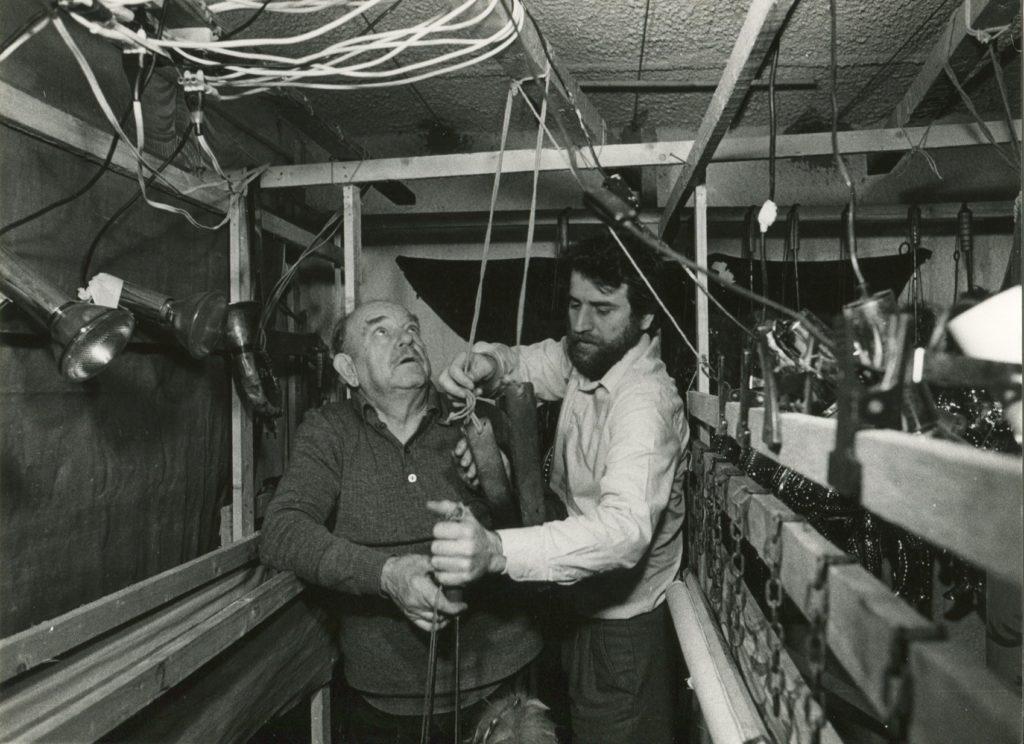 Mimmo Cuticchio con il padre Giacomo. Fonte httpwww.comune.palermo.itnoticext.phpcat=3&id=8827