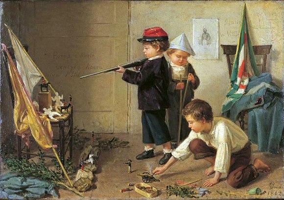 Gioacchino Toma, Piccoli patrioti, 1862