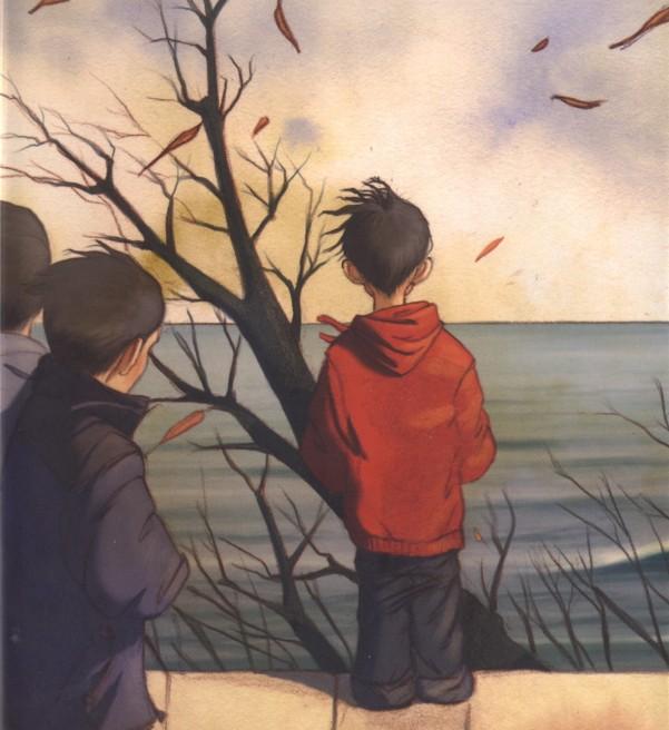 Il bambino oceano, Jean-Claude Mourlevat, Gianluca Garofalo,