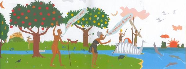 Castore e Polluce, tratta da castore e pollùce i gemelli portafortuna, Valeria Alessi, Giuseppe Lisciotto – Mesogea ragazzi 2013