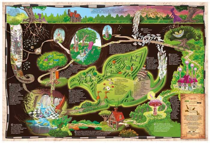 Le scoperte di Alice nel Paese delle Meraviglie, di Giorgio Sommacal e Pino Pace