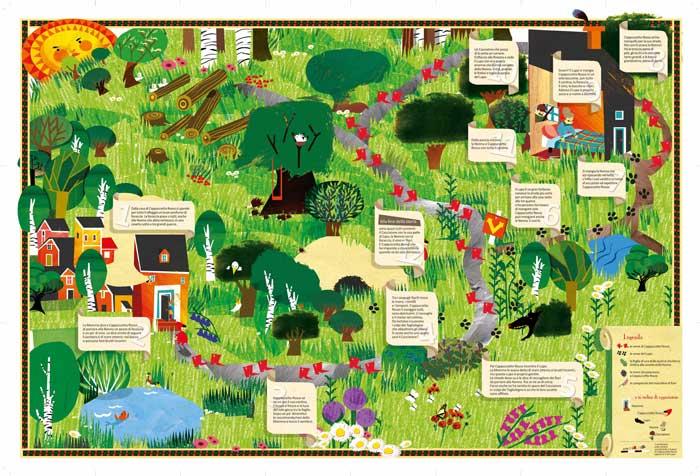 Cappuccetto Rosso e il sentiero nel bosco, di Chiara Dattola e Pino Pace
