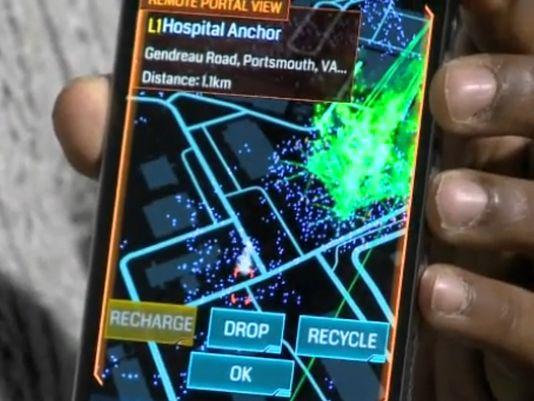 Una schermata di Ingress (2012)
