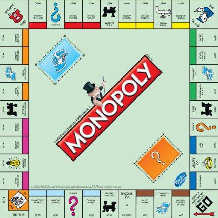 La versione ufficiale del Monopoly americano e la prima scatola del Monòpoli italiano, di epoca fascista
