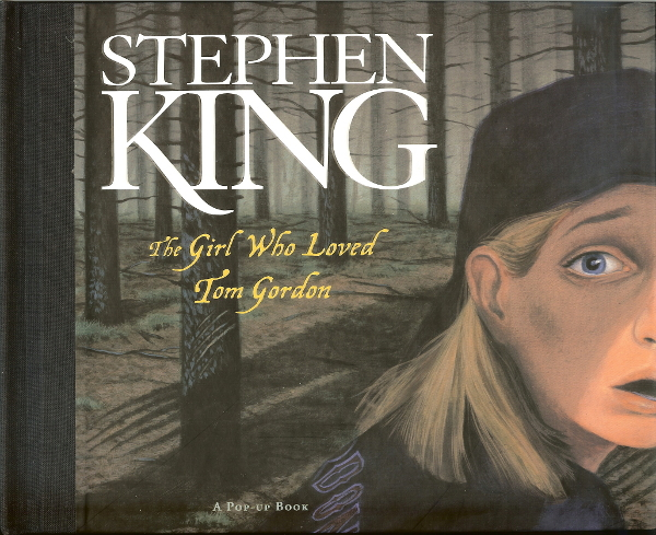 the girl who loved tom gordon, versione pop up ridotta per ragazzi dal romanzo di Stephen King