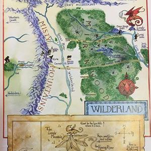 Mappe Fantasy, mappe fantastiche