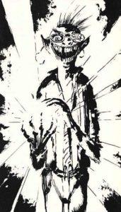 Ricurts, illustrazione di Clive Barker