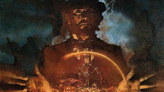 Illustrazione di David Grove per la locandina del film Something Wicked This Way Comes, tratto dal romanzo di Ray Bradbury
