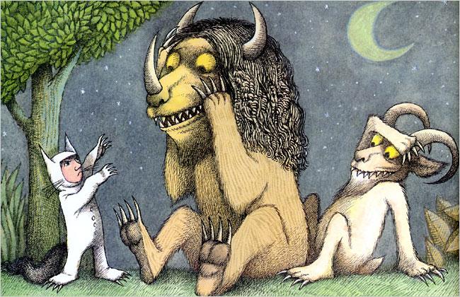 Maurice Sendak, Nel paese dei mostri selvaggi, Babalibri