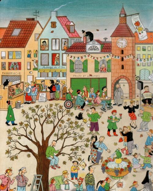Le Livre des 4 saisons, R.S. Berner, La joie de lire, 2013