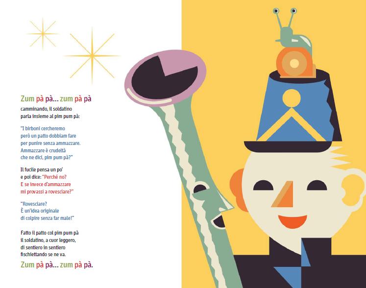 Il soldatino del Pim Pum Pà, Mario Lodi, Illustrazioni di Michele Rocchetti, Orecchio Acerbo 2014