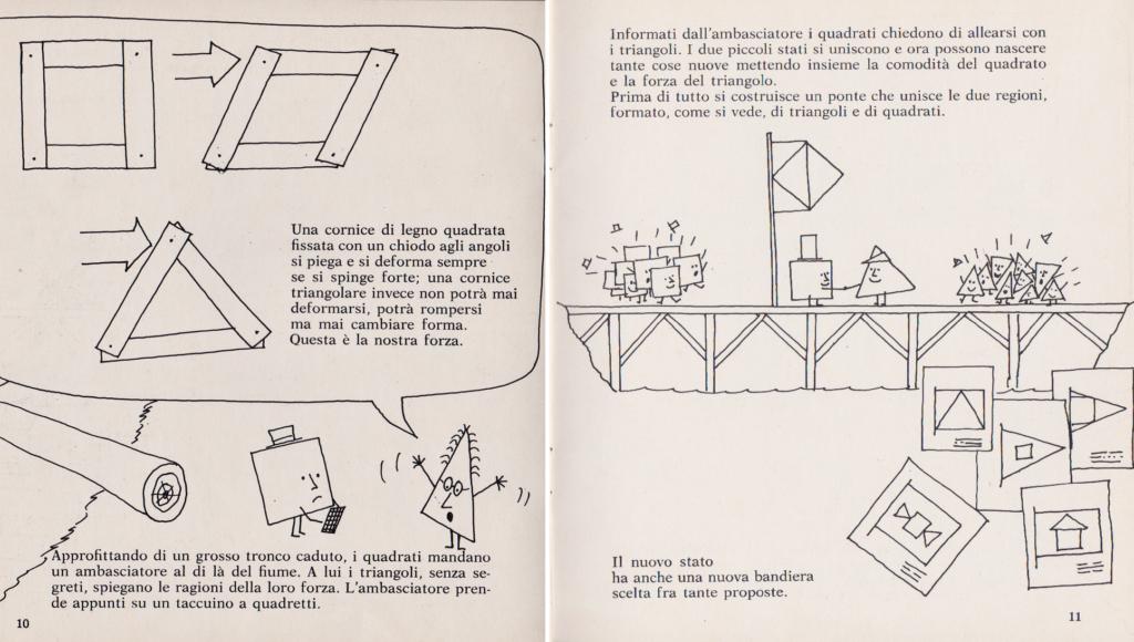 Quadrati e triangoli, Francesco Tonucci, Biblioteca di Lavoro nr. 43, ottobre 1975, Editore Luciano Manzuoli, Modena