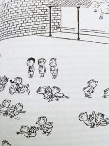 Goscinny & Sempé: Pugni a ricreazione da Le storie del piccolo Nicolas, Donzelli editore 2016