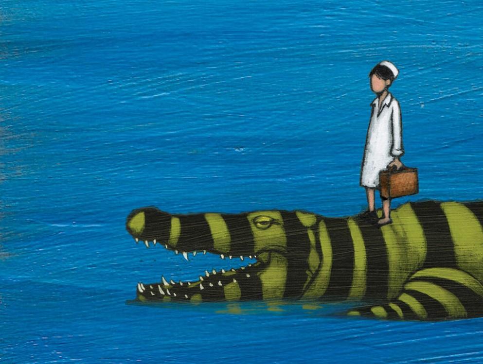 Nel mare ci sono i coccodrilli, Fabio Geda