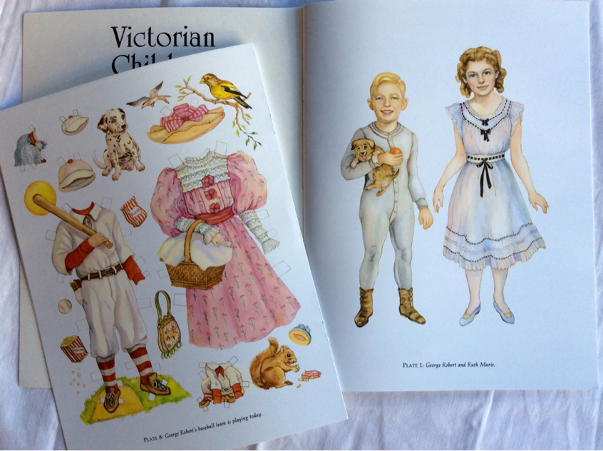 Evelyn Gathings Victorian Children Paper Dolls, Dover pubblication